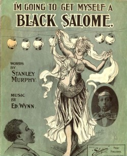 I'M GOING TO GET MYSELF A BLACK SALOME