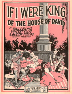 IF I WERE KING OF THE HOUSE OF DAVID