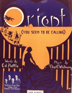 ORIENT (YOU SEEM TO BE CALLING)