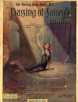 PASSING OF SALOME