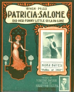 WHEN MISS PATRICIA SALOME DID HER FUNNY LITTLE OO-LA-PA-LOME