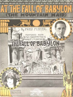 AT THE FALL OF BABYLON