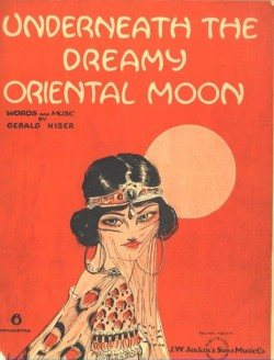 UNDERNEATH THE DREAMY ORIENTAL MOON