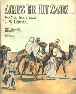 ACROSS THE HOT SANDS