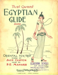 THAT QUAINT EGYPTIAN GLIDE